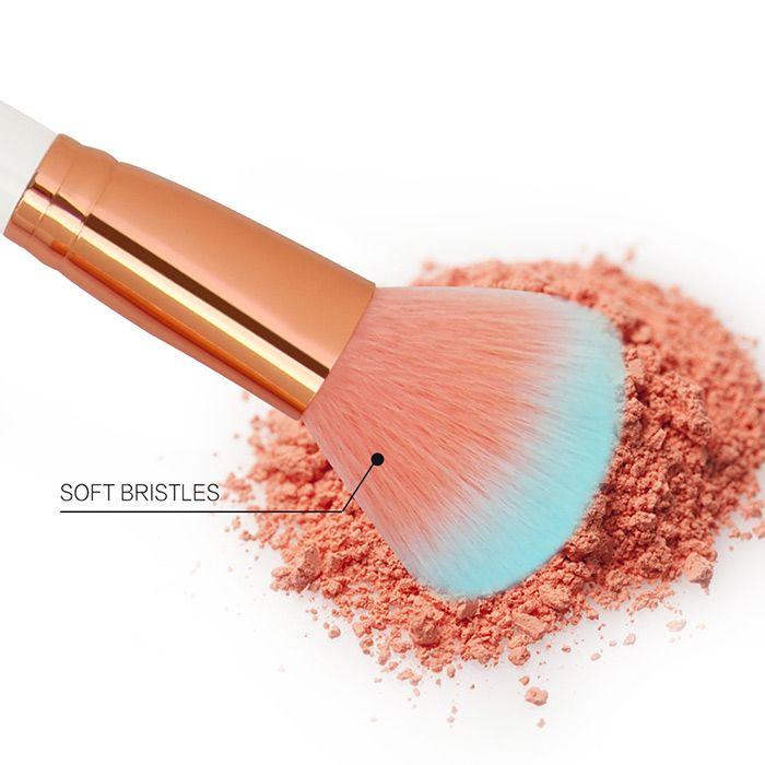 Two Tones Bristles Makeup Brushes Set 12Pcs