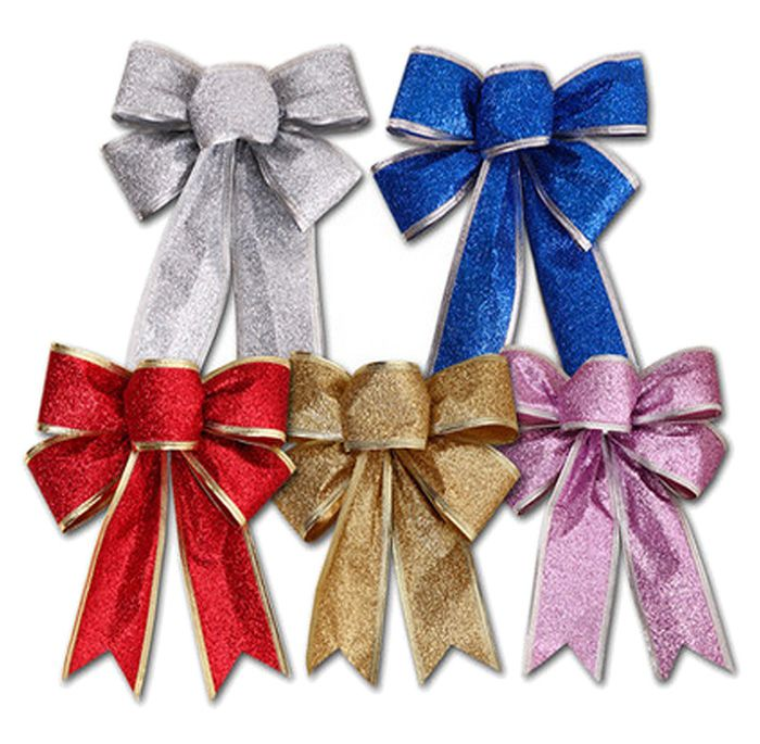 Christmas Party Decorations Bowknot