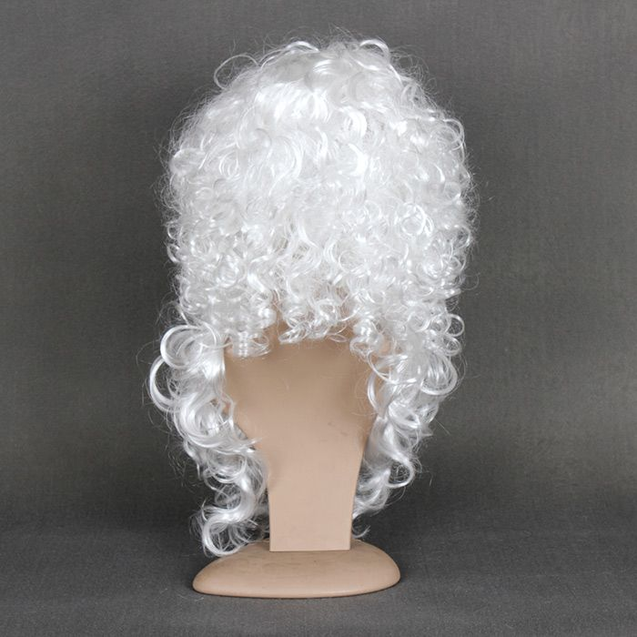 Short Shaggy Curly Santa Claus Cosplay Synthetic Wig With Beard and Cap