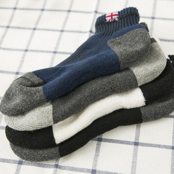 The Union Flag Pattern Anklet Socks