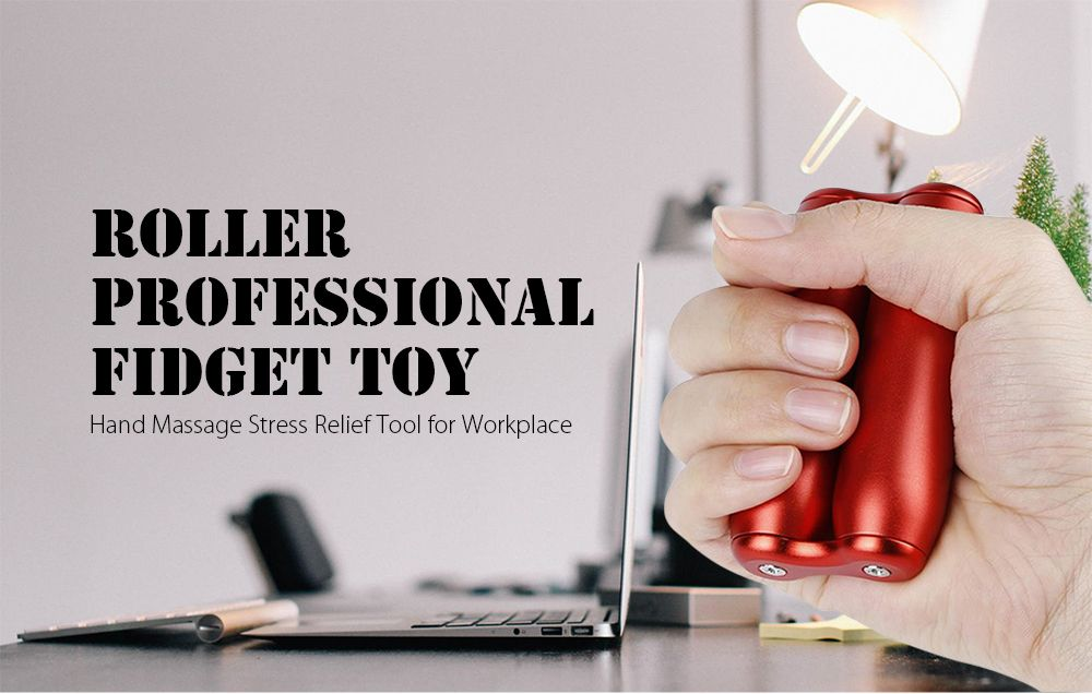 Roller Shape Desktop Toy Anxiety Release for Office Home
