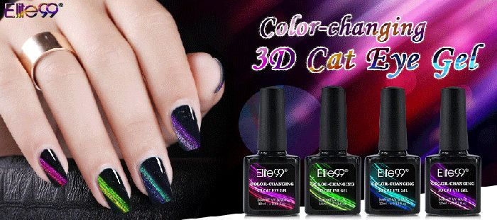10Ml Color Changing Cat Eye Soak Off UV Gel Nail Art Nail Polish