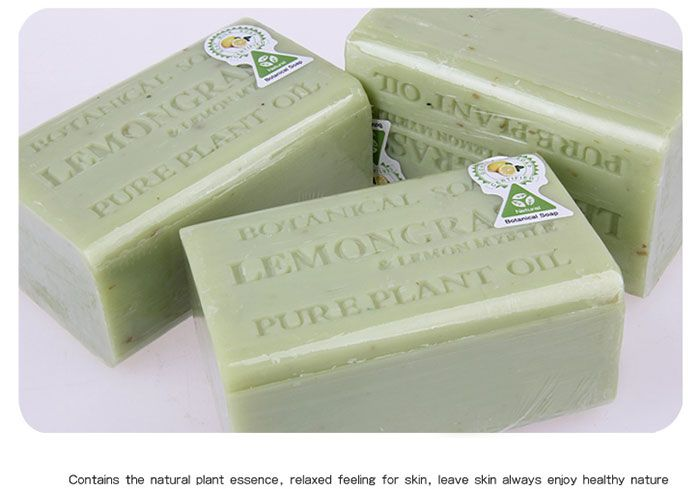 Skin Clean Lemon Handmade Botanical Soap Bar