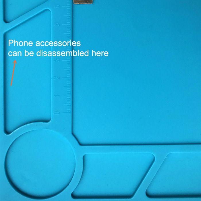 Heat-resistant Silicone Insulation Phone Repair Tool Pad