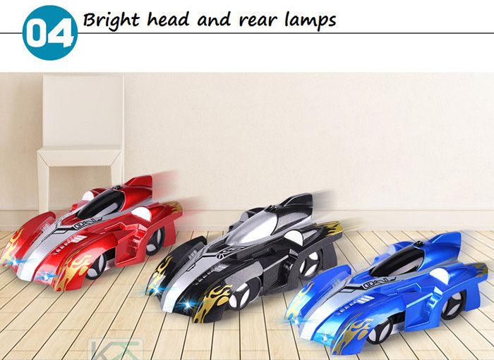 Wall Climbing Car With Remote Control for Kids