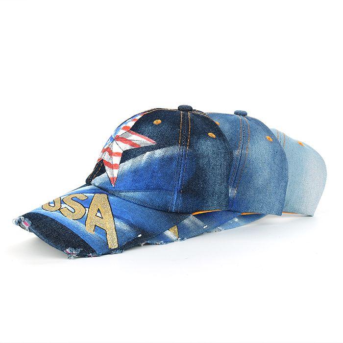 Funny Star Pattern Hand Drawing Adjustable Baseball Hat