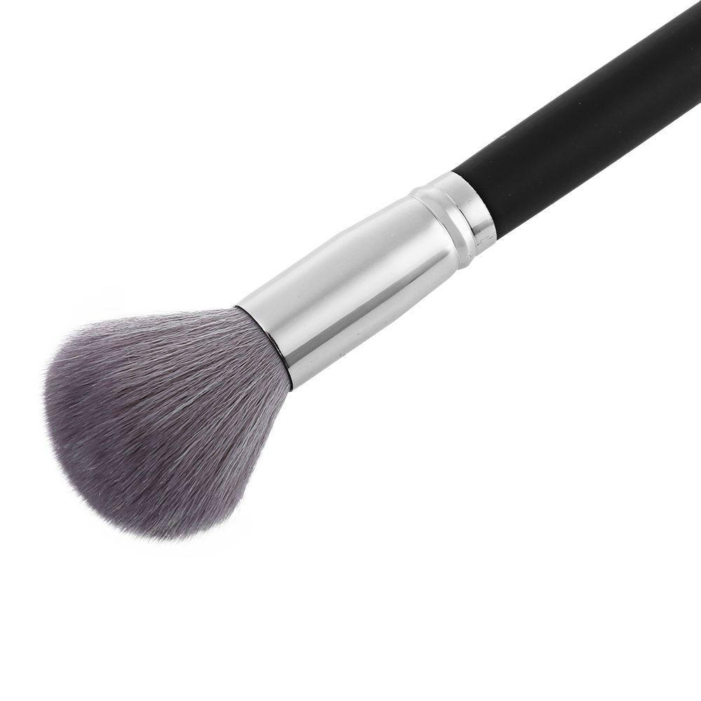 Single Antibacterial Bamboo Charcoal Fiber Powder Blush Brush Tool