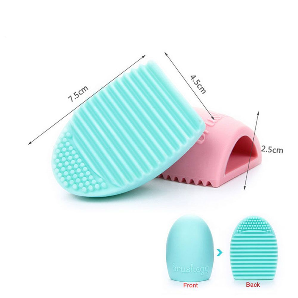 8pcs Makeup Brush Cleaner Finger Silicone Glove Cosmetic Cleaning Tool Set