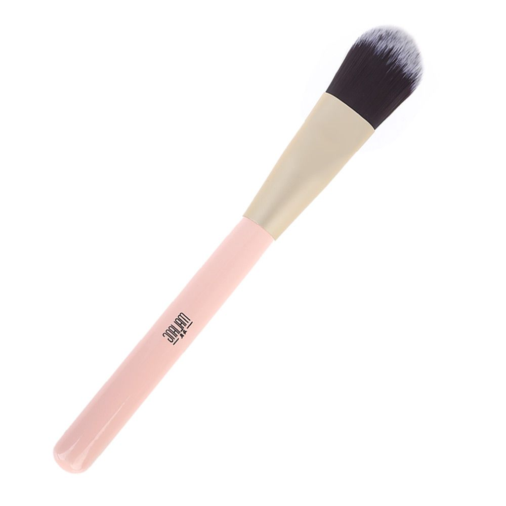 Single Pink Makeup Cosmetics Liquid Foundation Blending Brush