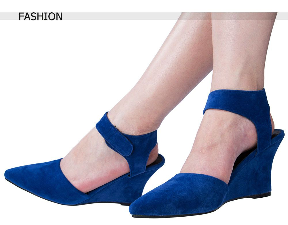 Women Summer Ankle Pointed Toe Sexy Sandals High Heels Shoes