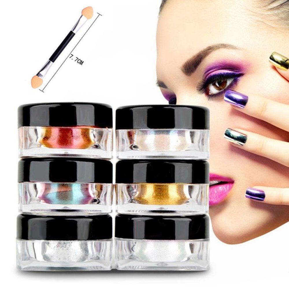 12 Color Magic Mirror Chrome Effect Nails Powder