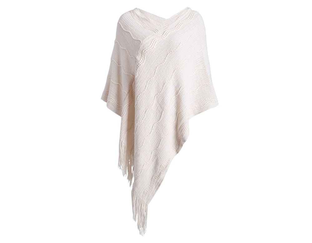 Fashionable Pure Color Women Warm Scarf
