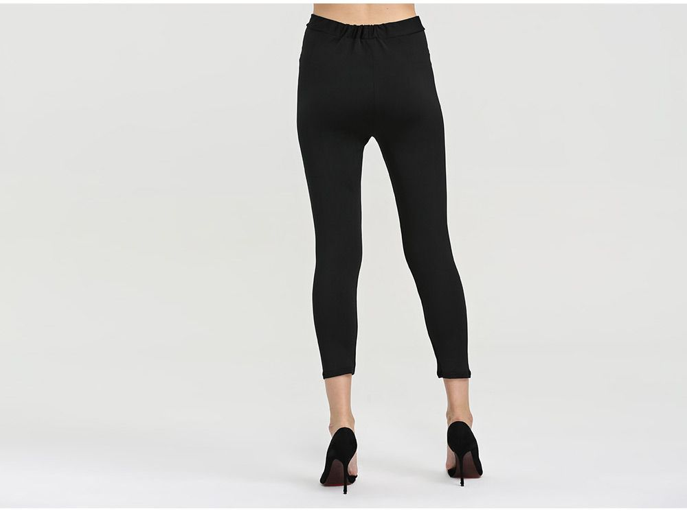 Fashion High Elastic Hollow Sports Women Bottom Pants