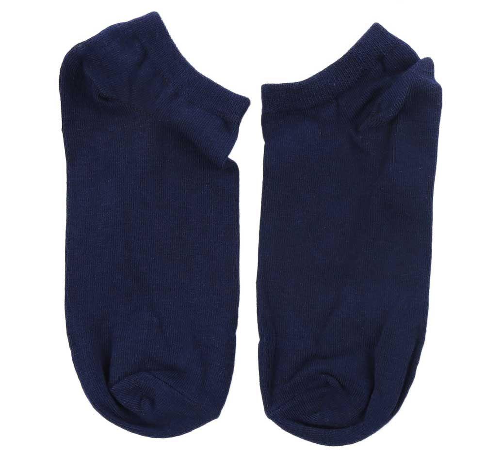10pcs Casual Pure Color Cotton Breathable Ankle Socks for Men