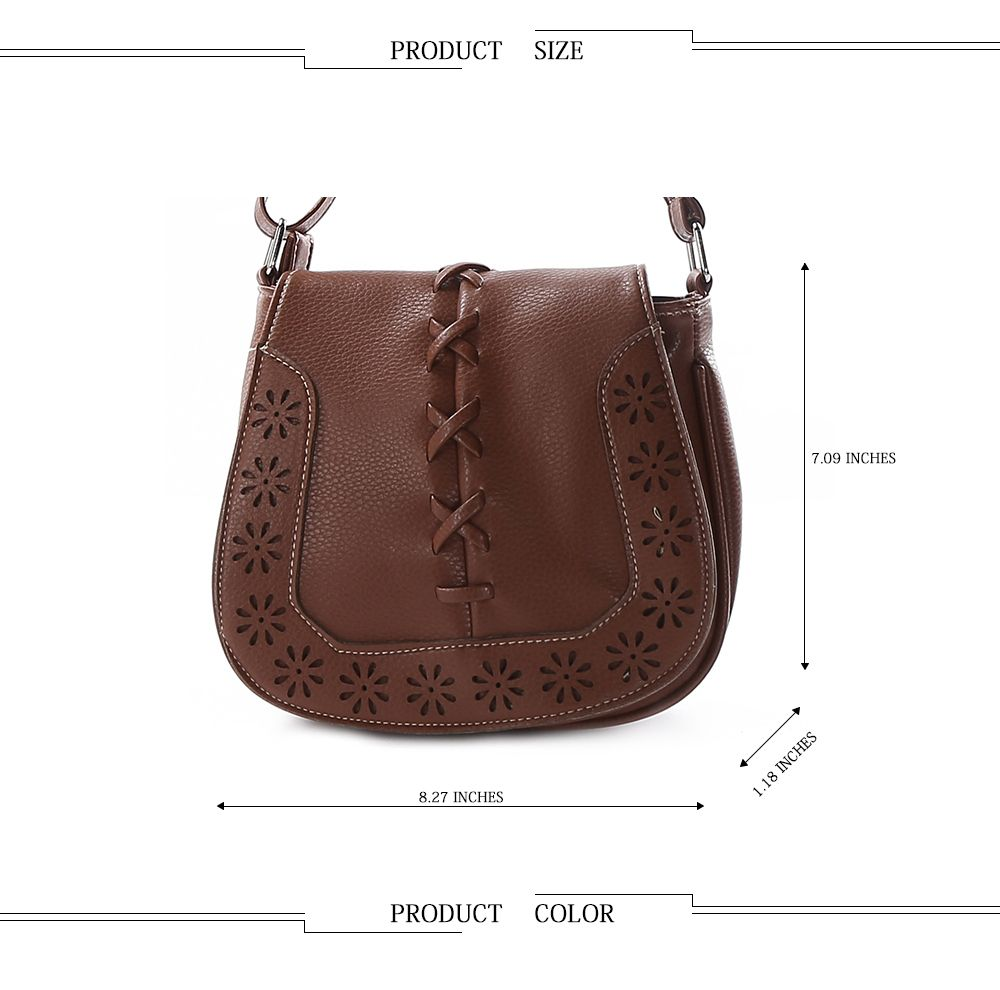 Fashion Women Mini Round Handbag Old Classical  Crossbody Bag