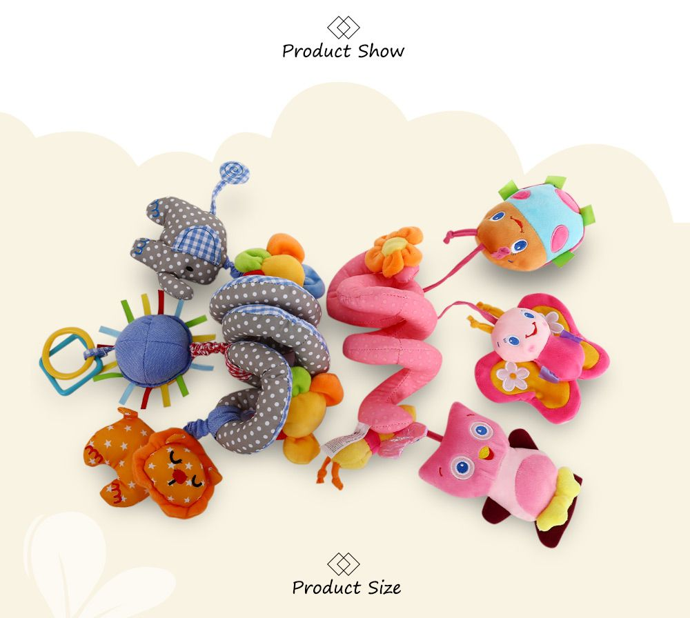 Sozzy Animal Shape Baby Music Bed Hanging Toy