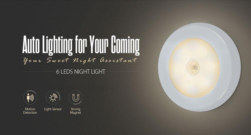 Utorch LED Night Light Human Body Induction Lamp