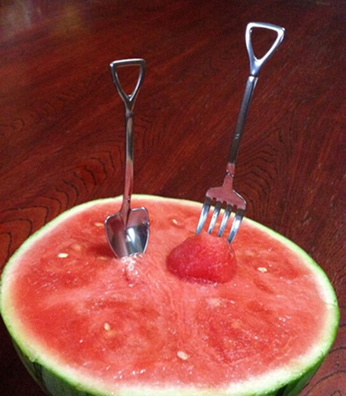 DATOUREN Tableware Spoon Farm Series Shovel Shape for Adult