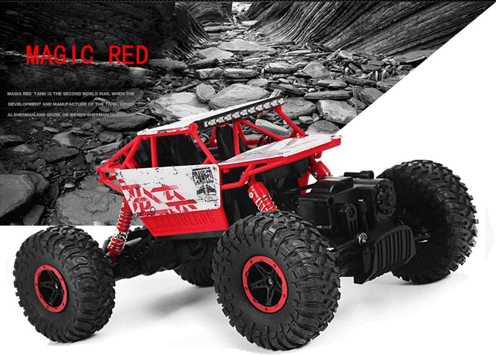 HB P1801 2.4GHz 1:18 Scale RC 4 Wheel Drive Toy Car