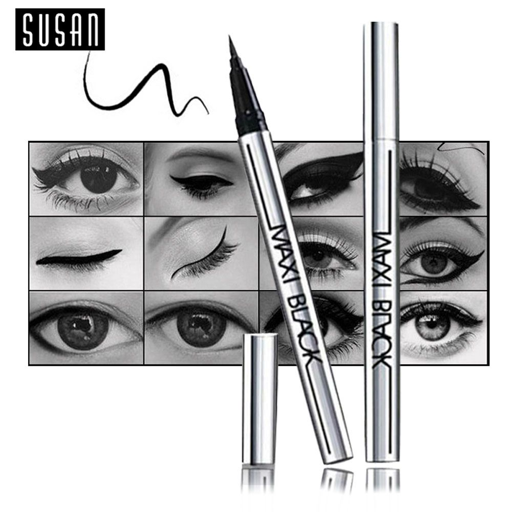 Ultimate Black Long-lasting Waterproof Eyeliner Pencil Pen