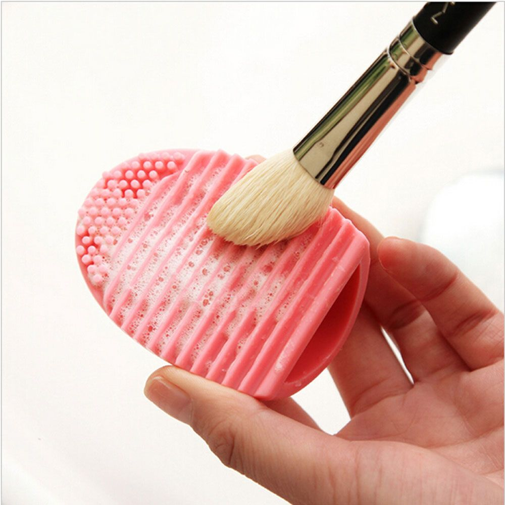 2pcs Makeup Brush Cleaner Finger Silicone Glove Cleaning Tool