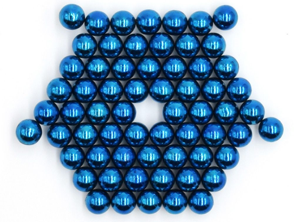 5mm Round Shape Magnetic Ball Puzzle Novelty Toy for DIY - 64Pcs