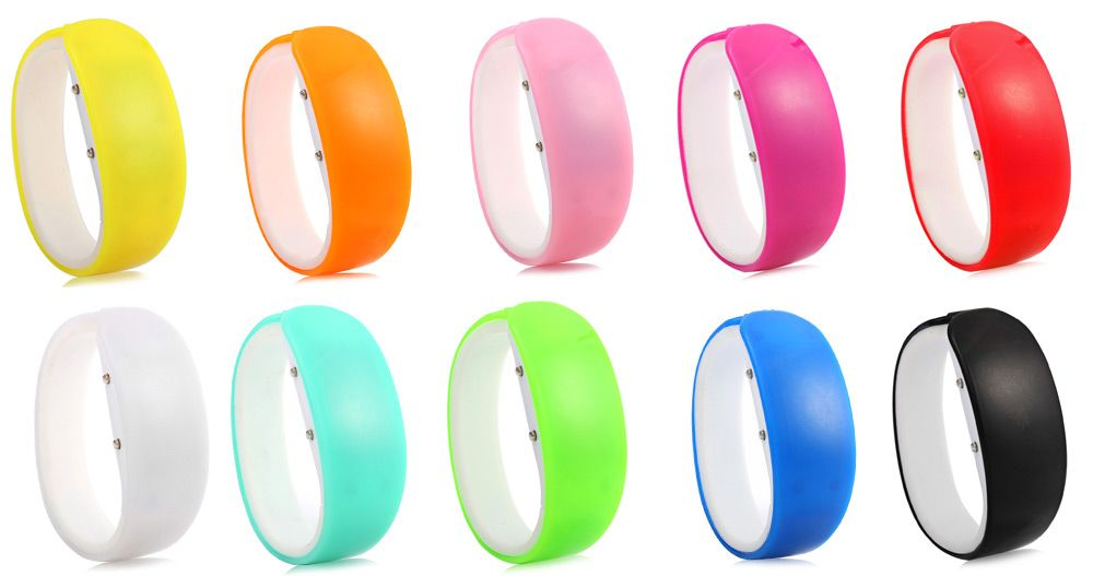 Jijia White Subtitle Date Display LED Watch Candy Color Dolphin Shape Dial