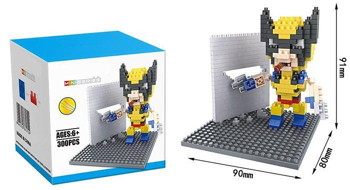 Super Hero Micro Diamond Building Block - 300Pcs Educational Kid Toy
