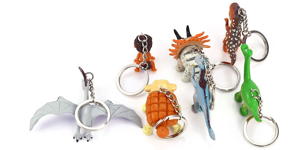 Key Chain Hanging Pendant Keyring Movie Product for Key Bag Decoration - 7Pcs / Set