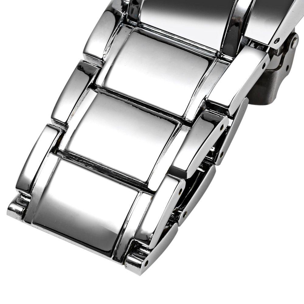 Curren 8001B Big Round Dial Quartz Watch Nail Scale for Men
