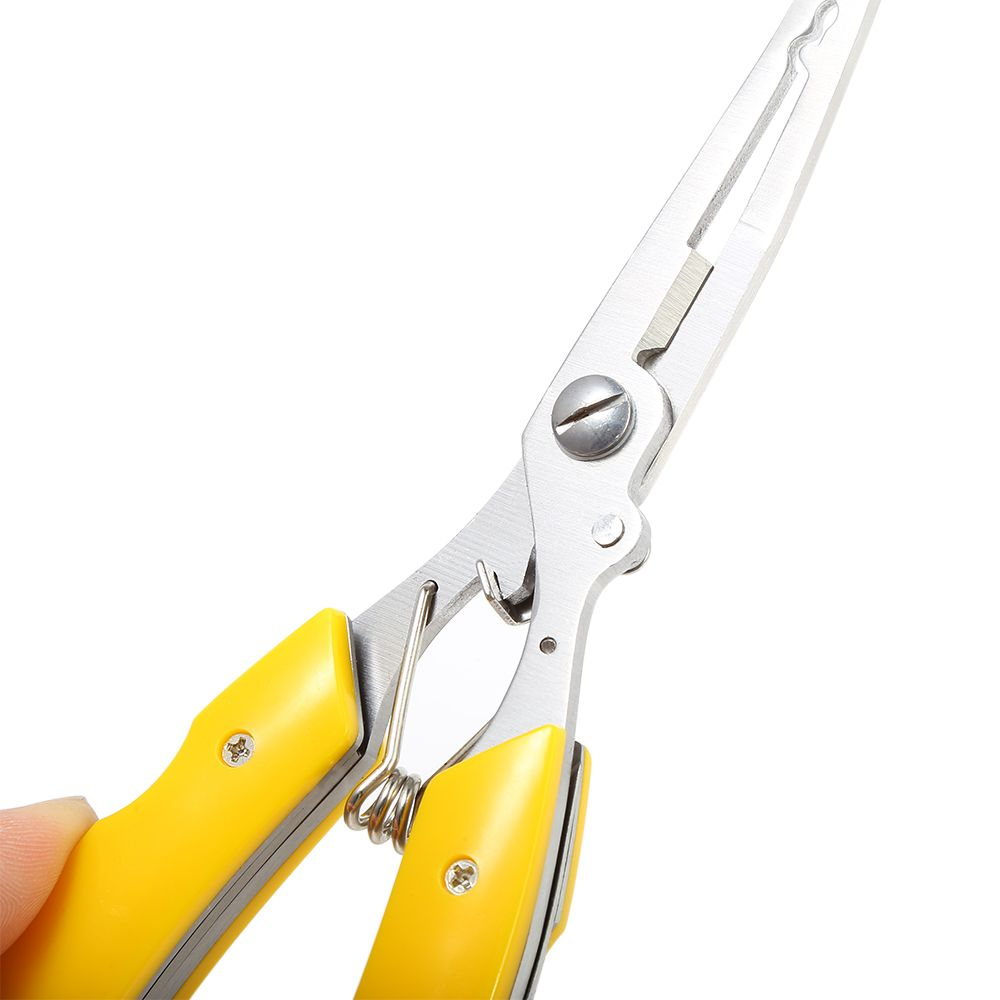 Multi-funciton Stainless Steel Fishing Lure Pliers Knife Scissor