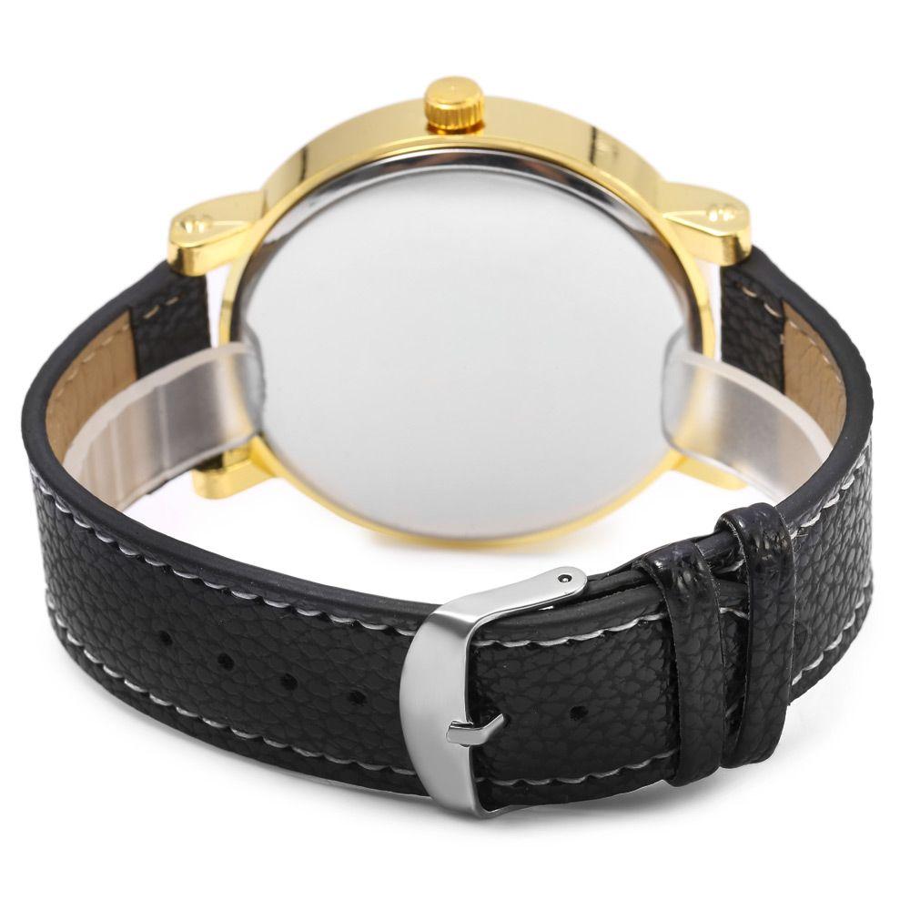 JUBAOLI 1097 Male Japan Quartz Watch Genuine Leather Band