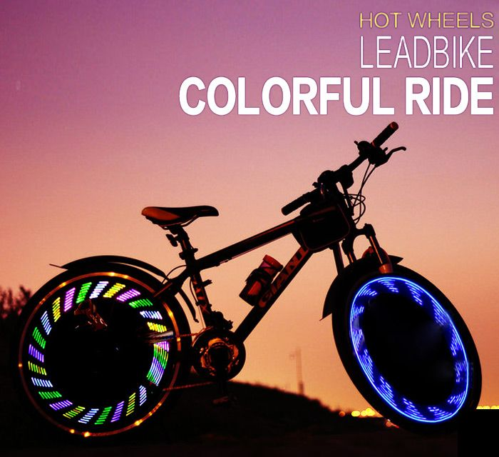 LEADBIKE A05 7 LED Bicycle Spoke Light IPX5 Waterproof Grade