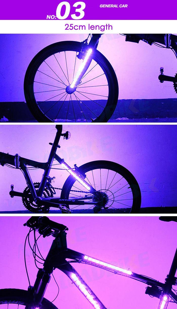 LEADBIKE A106 Bicycle Spoke Light 12RGB LED 8 Modes Spoke Light