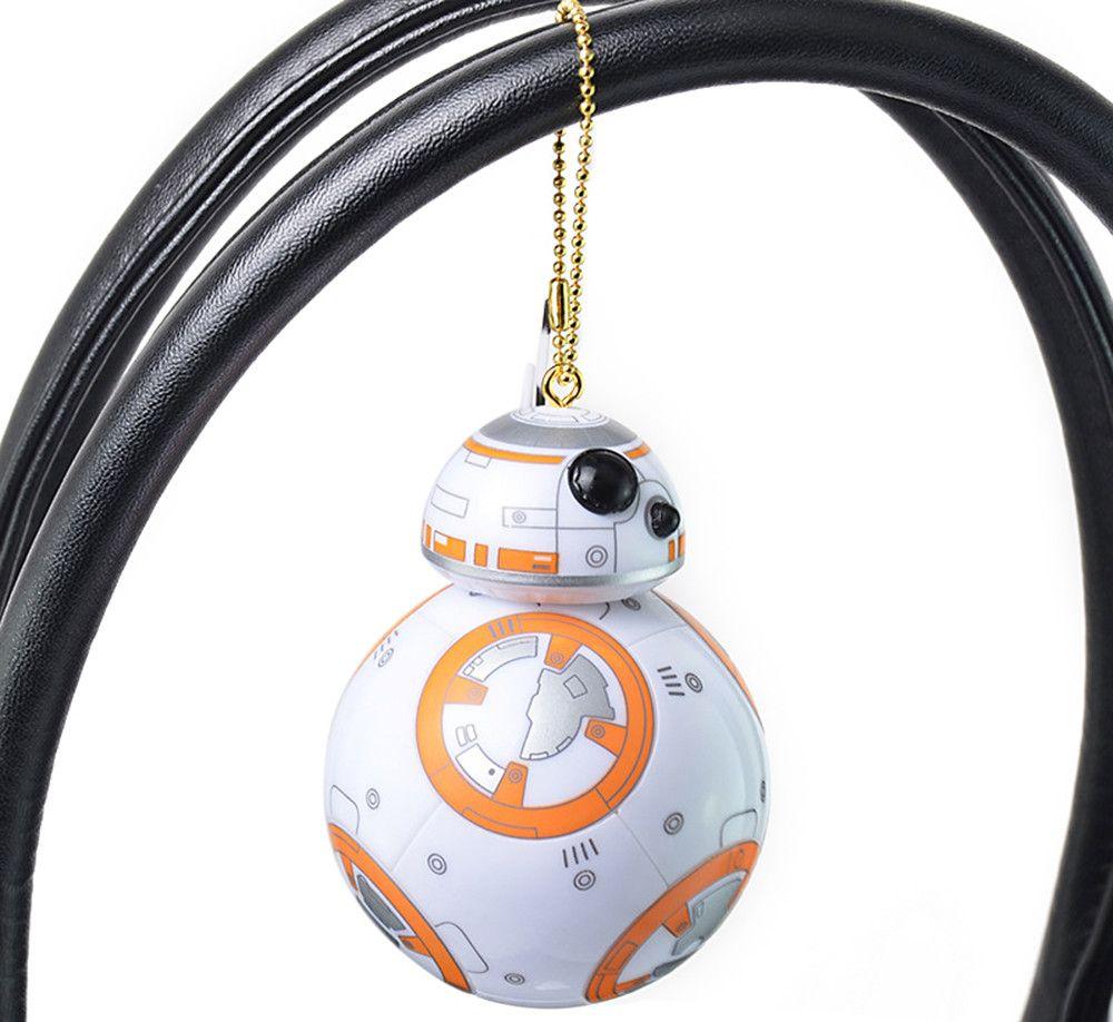 BB - 8 Portable Robot Spherical Shape Key Chain Pendant for Bag Hanging Gift
