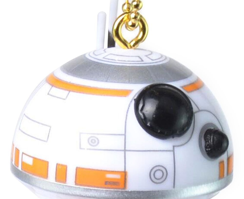 BB - 8 Portable Robot Spherical Shape Key Chain Pendant for Bag Hanging Gift