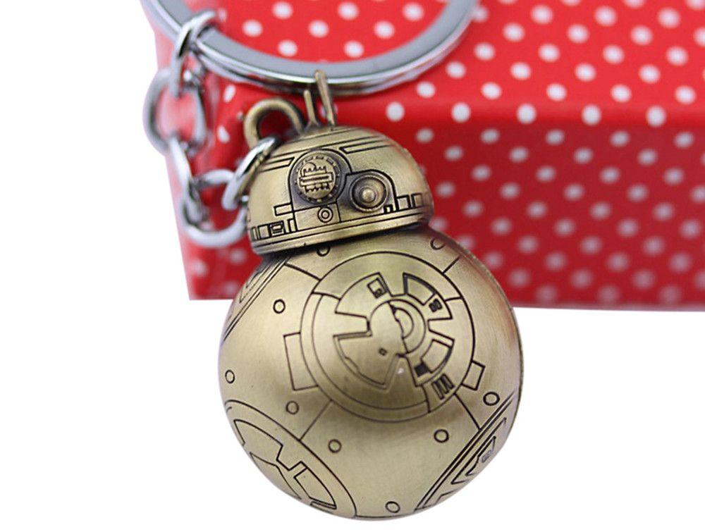 BB - 8 Portable Robot Shape Key Chain Zinc Alloy Pendant for Bag Hanging Decoration