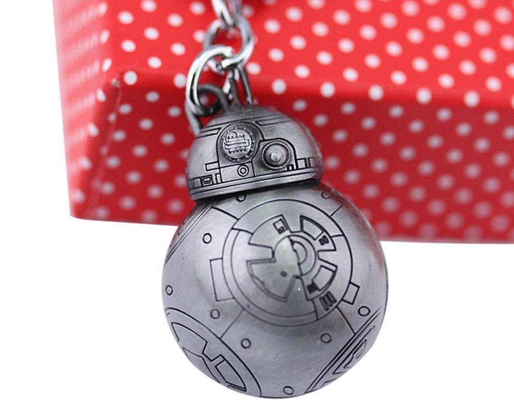 BB - 8 Portable Robot Shape Key Chain Zinc Alloy Pendant for Bag Decoration