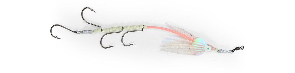 Luminous Sabiki Rigs Fishing Lure with Sequin