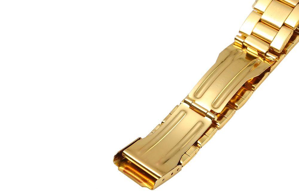 GENEVA 001 Male Quartz Watch Stainless Steel Band