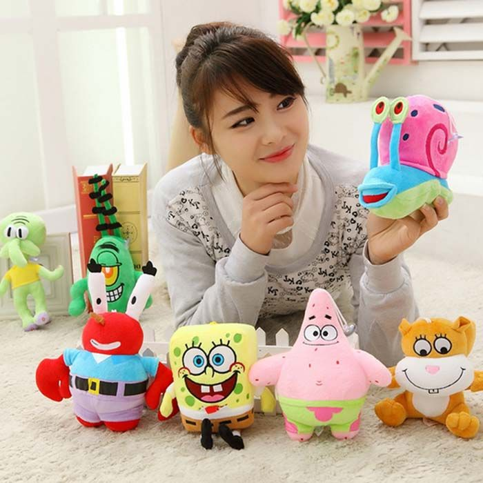 6.2 inch Anime Figure Style Plush Toy Stuffed Doll Decoration Gift