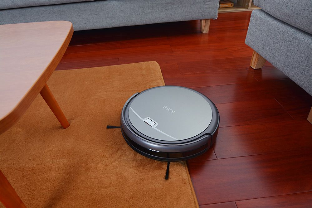 ILIFE A4 Smart Robotic Vacuum Cleaner Intelligent Sweeping Cleaning Machine Self-charge HEPA Filter Sensor Remote Control Robot Aspirador