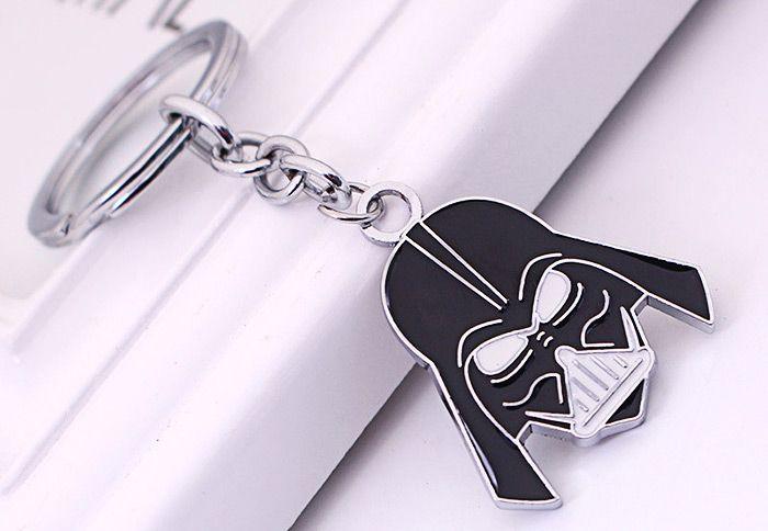 Key Chain Hanging Pendant Warrior Shape Keyring Movie Product for Bag Decoration
