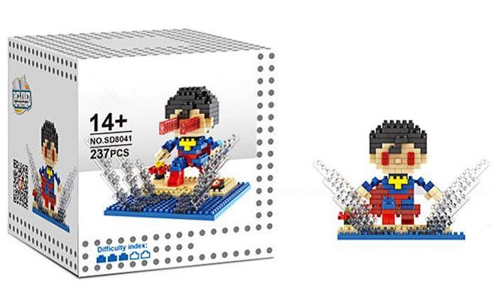 6 Box / Set Hero Style Building Block Educational Movie Product Kid Toy