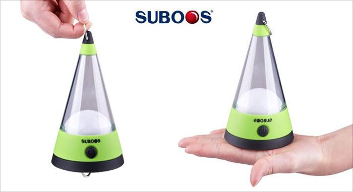 SUBOOS ZT - 6012 12 LED Camping Tent Lantern Practical Droplight Desk Lamp