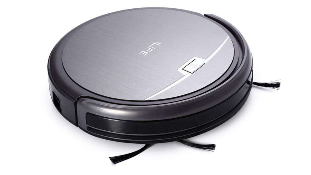 ILIFE A4 Smart Robotic Vacuum Cleaner Cordless Sweeping Cleaning Machine Self-charge HEPA Filter Sensor Remote Control Robot Aspirador