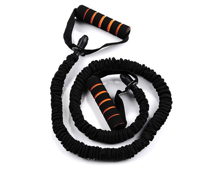 Latex Elastic Strength Trainer Resistant Band for Yoga Fitness Exercise