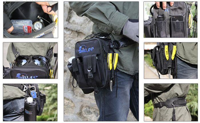 ILURE 3L Fishing Bag Tear Resistant Waterproof Design