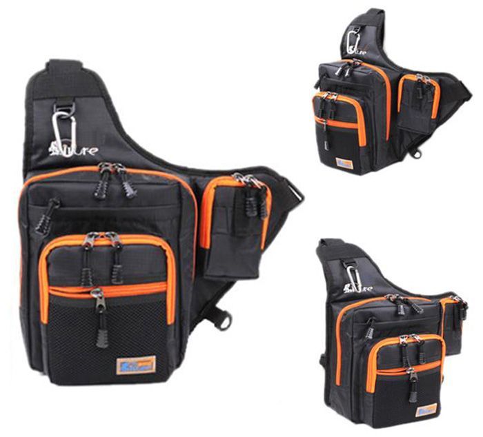 ILURE 4L Fishing Bag Multipurpose Waterproof Saddle Pack