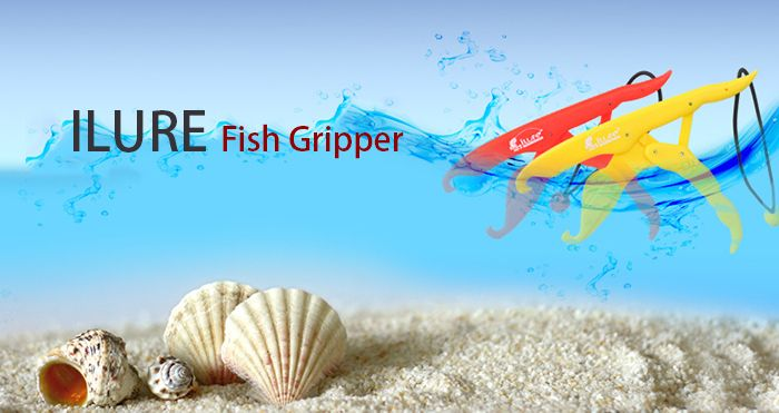 ILURE Fish Gripper ABS Portable Fishing Gear